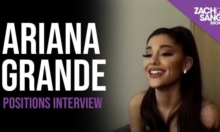 """Ariana Grande """"Positions"""" Interview 