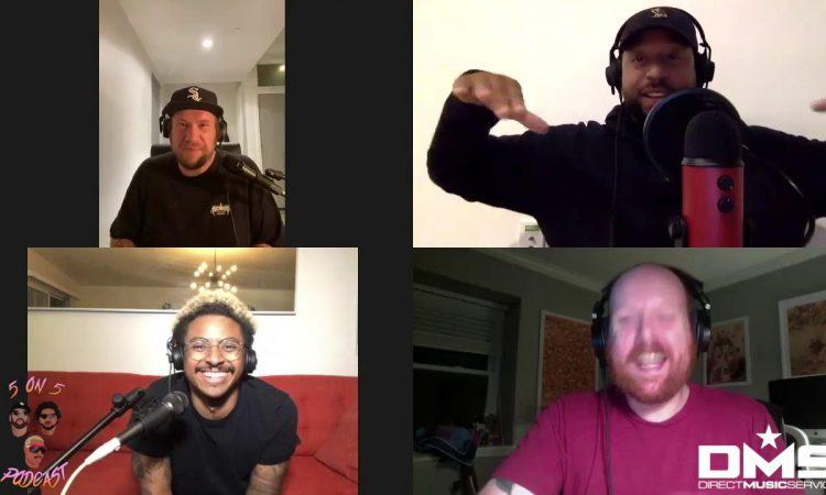 Bird Peterson Takes On Three6Mafia Vs. Wu-Tang Clan | 5 on 5 Podcast