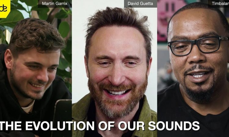 David Guetta, Martin Garrix & Timbaland | The Evolution Of Our Sounds