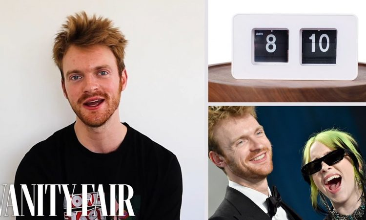 Everything FINNEAS Does In A Day | Vanity Fair