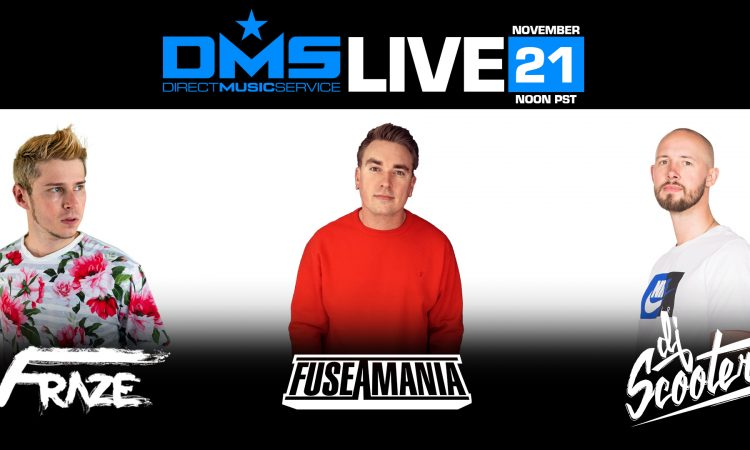 DMS LIVE FT. FRAZE, FUSEAMANIA & SCOOTER