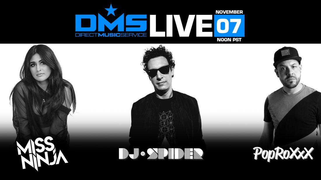 DMS LIVE FT. POPROXXX, MISS NINJA, & DJ SPIDER