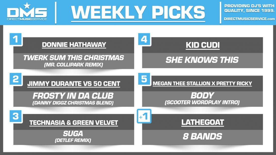 DMS TOP 5 PICKS OF THE WEEK 12-14-2020