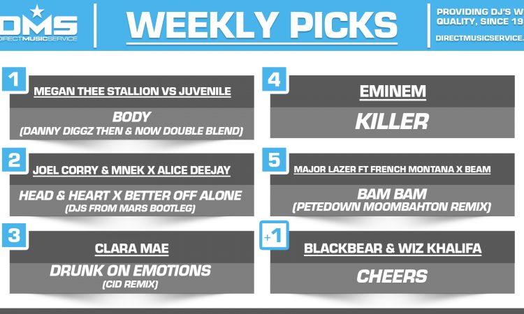 DMS TOP 5 PICKS OF THE WEEK 12-28-2020
