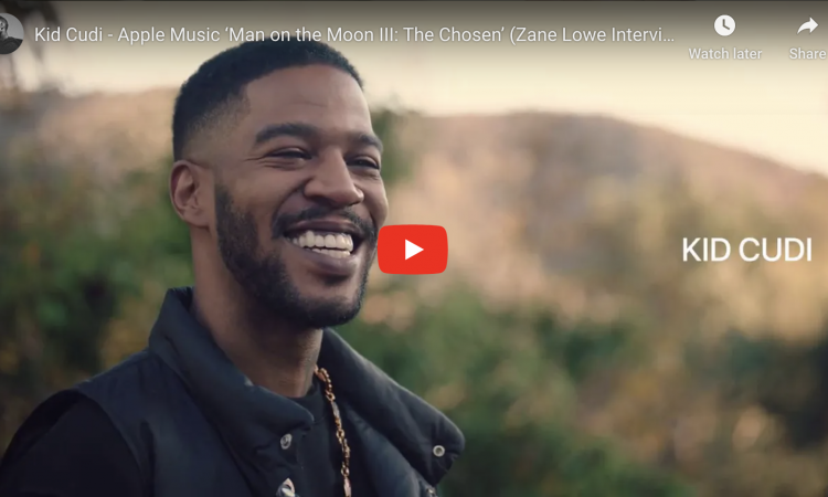 Kid Cudi - Apple Music 'Man on the Moon III: The Chosen' (Zane Lowe Interview)