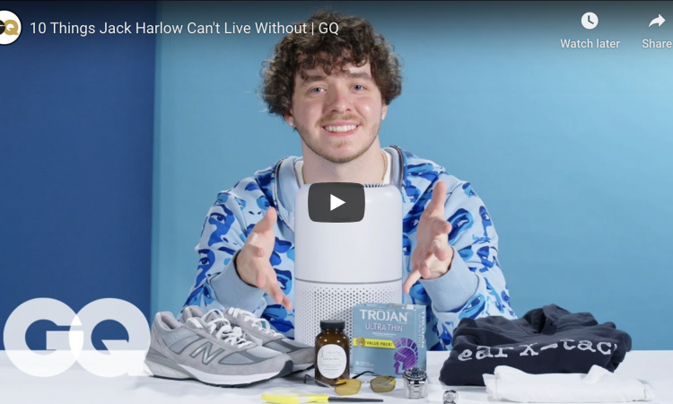 10 Things Jack Harlow Can't Live Without | GQ