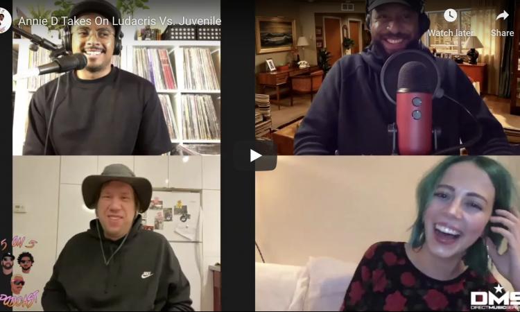 Annie D Takes On Ludacris Vs. Juvenile   5 on 5 Podcast