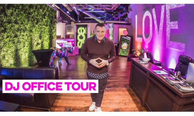 Mobile DJ office Tour - Welcome to the wow of SCE Event Group... | JASON JANI