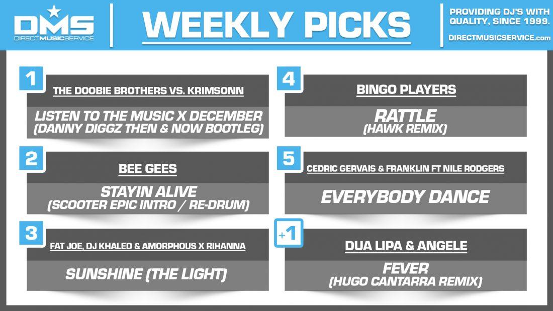 DMS TOP 5 PICKS OF THE WEEK 1-25-2021