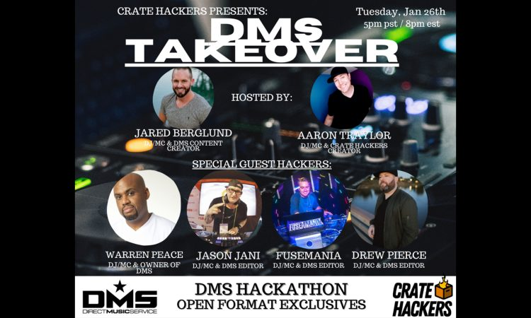 CRATE HACKERS HACKATHON - DMS TAKEOVER