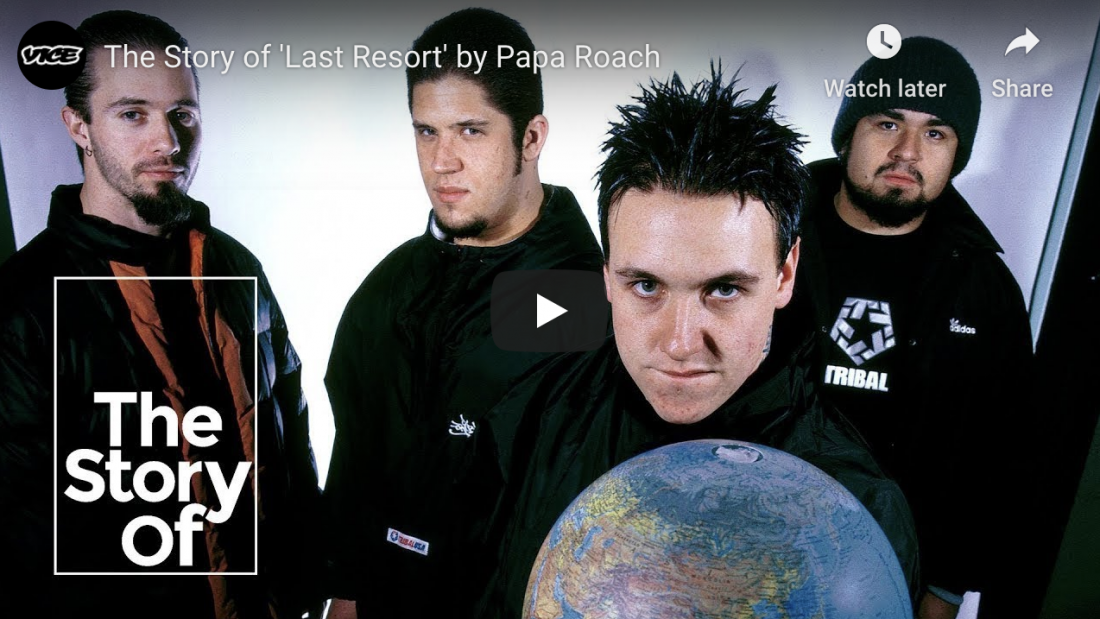 The Story of 'Last Resort' by Papa Roach | VICE