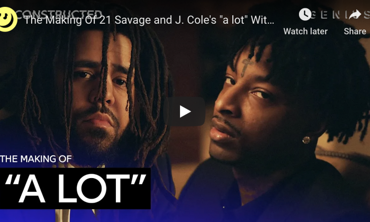 """The Making Of 21 Savage and J. Cole's """"a lot"""" With DJ Dahi   Deconstructed"""