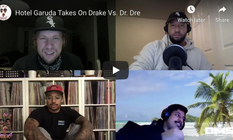 Hotel Garuda Takes On Drake Vs. Dr. Dre | 5 on 5 Podcast