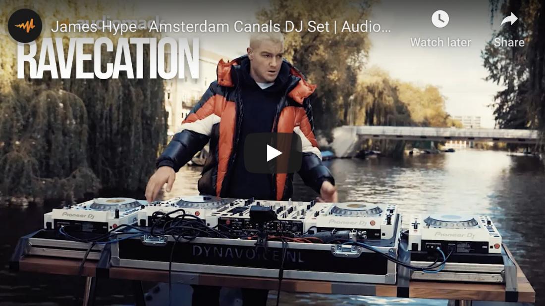 James Hype – Amsterdam Canals DJ Set | Audiomack Ravecation