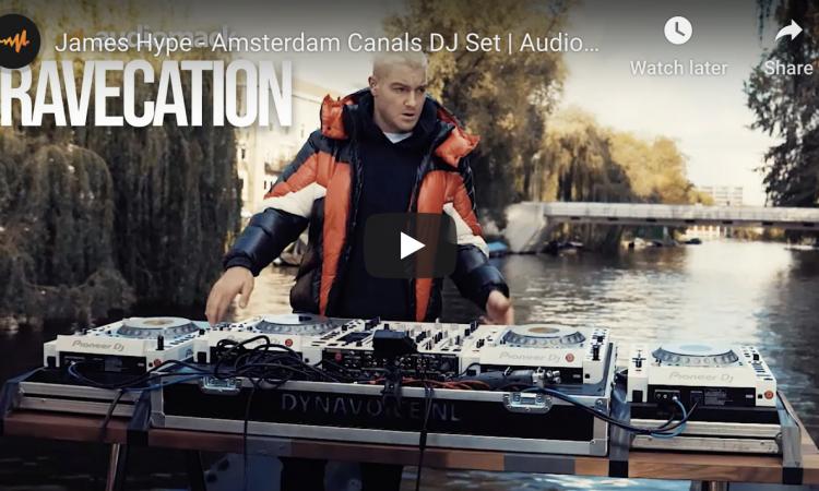 James Hype - Amsterdam Canals DJ Set | Audiomack Ravecation
