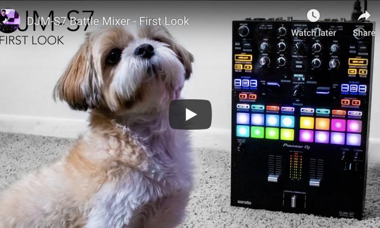 DJM-S7 Battle Mixer - First Look | Pri Yon Joni