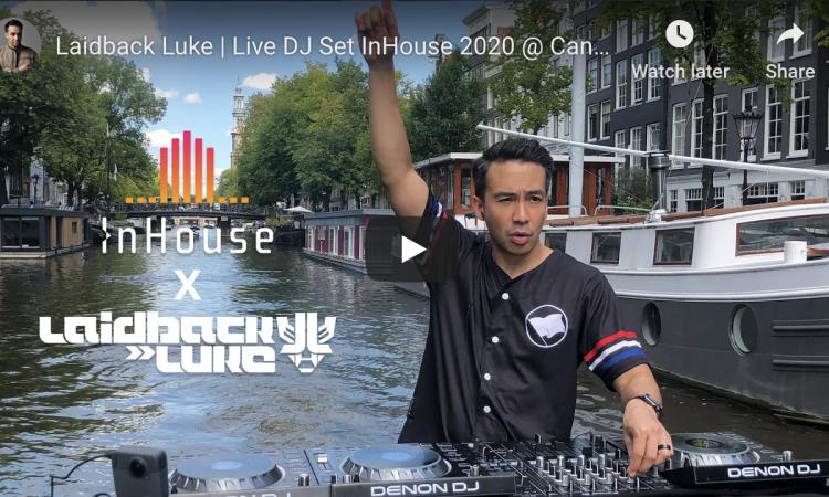 Laidback Luke | Live DJ Set InHouse 2020 @ Canals of Amsterdam
