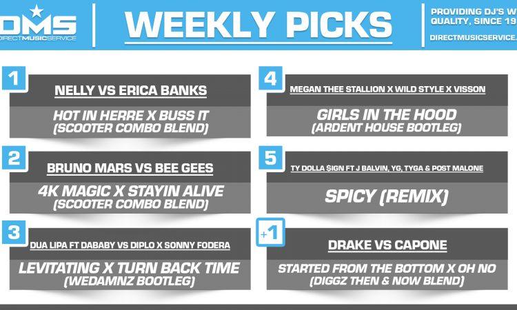 DMS TOP 5 PICKS OF THE WEEK 2-1-2021