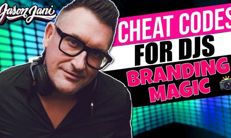 Cheat codes for DJs: Branding Photo Magic   Jason Jani