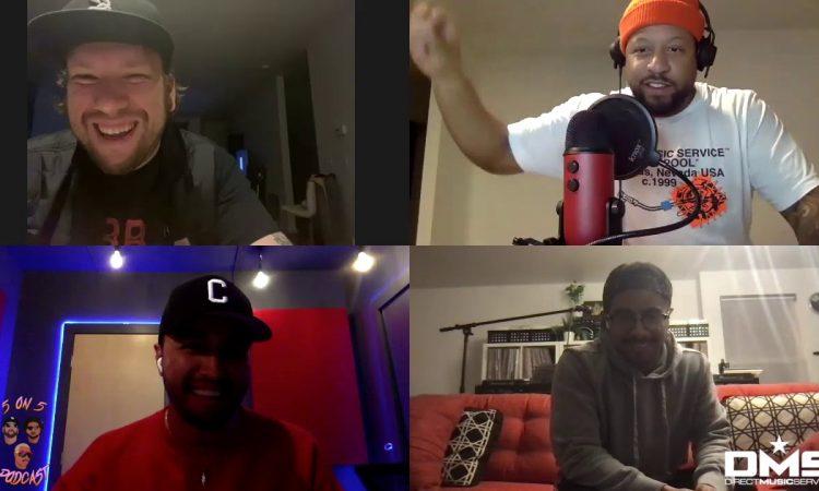 Crespo Takes On Kendrick Lamar Vs. J. Cole | 5  on 5 Podast