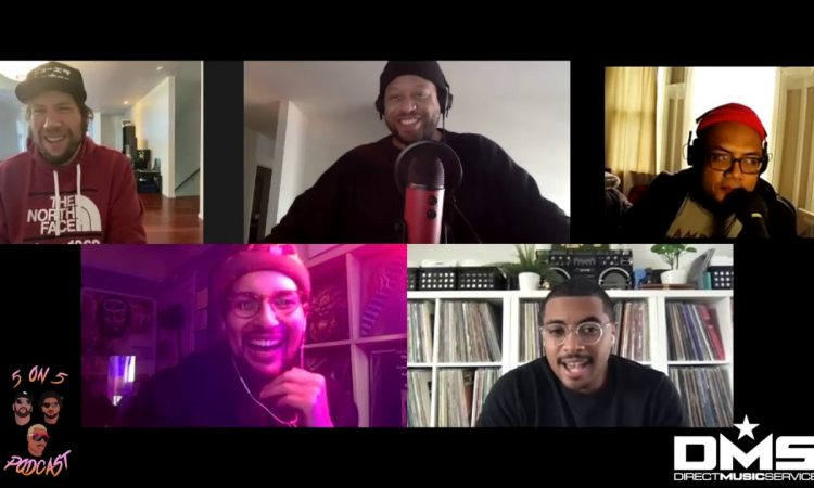 King Most & Stank Palmer Take On The Weeknd Vs. PARTYNEXTDOOR  | 5 on 5 Podcast