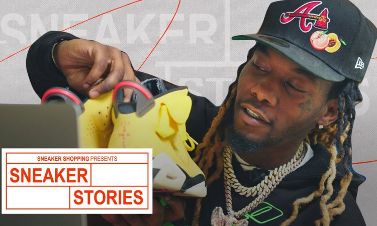 Offset Shows Off 1 of 1 Travis Scott Jordans and His Extremely Rare Sneaker Rotation