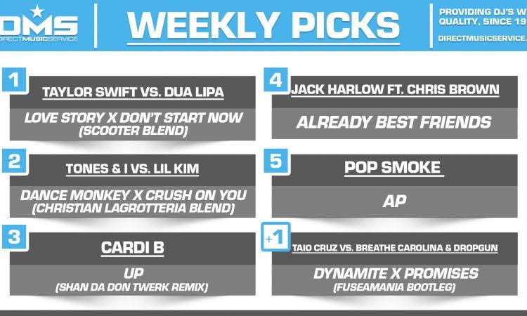 DMS TOP 5 PICKS OF THE WEEK 3-1-2021