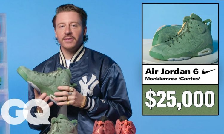 Macklemore Shows Off His Sneaker Collection   GQ