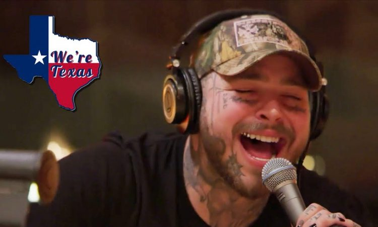 POST MALONE GOES COUNTRY | WE'RE TEXAS