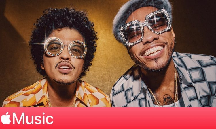 """Silk Sonic: """"Leave the Door Open"""" with Bruno Mars and Anderson .Paak   Apple Music"""