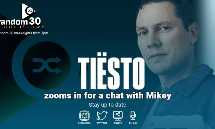 Tiesto Interview | new single 'The Business' out now | Random 30