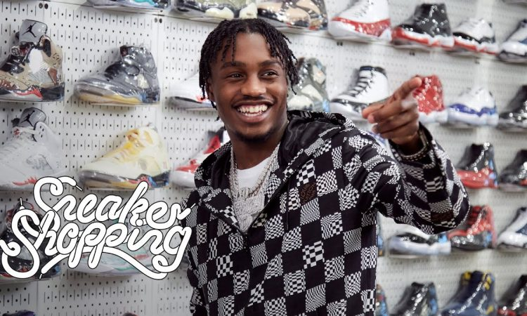 Lil Tjay Goes Sneaker Shopping With Complex