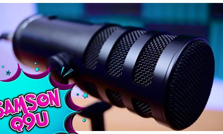 Why the Samson Q9U is my favorite new microphone! | Pri yon Joni