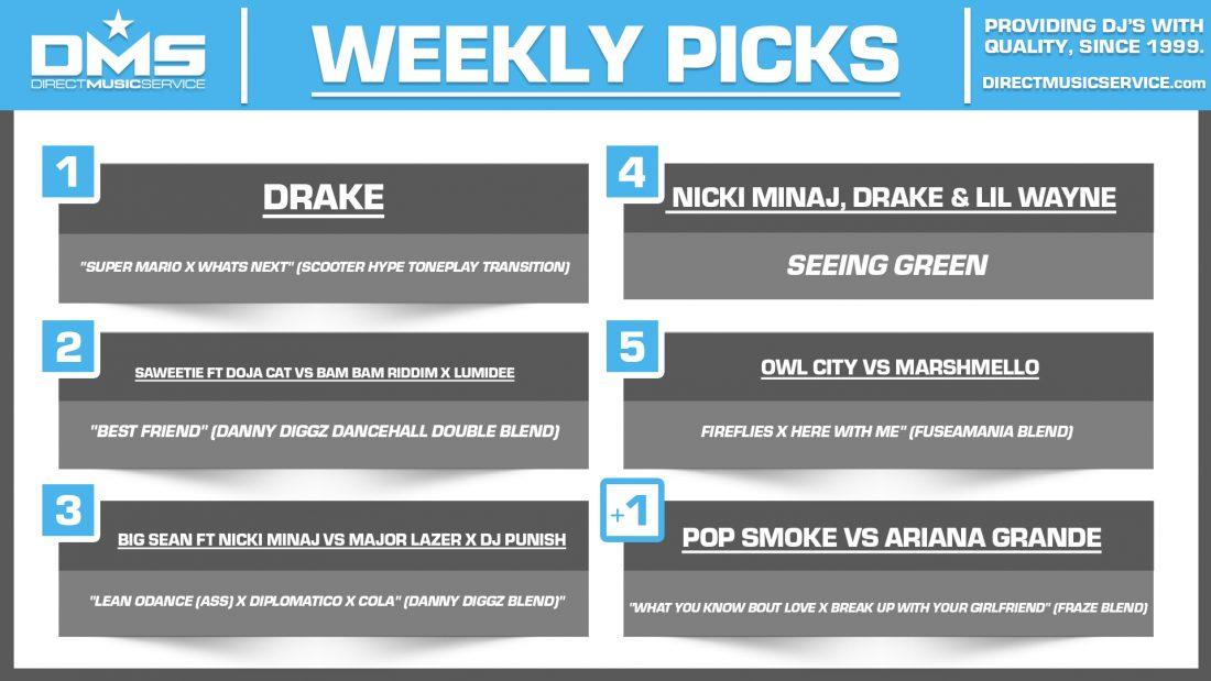DMS TOP 5 PICKS OF THE WEEK 5-17-2021