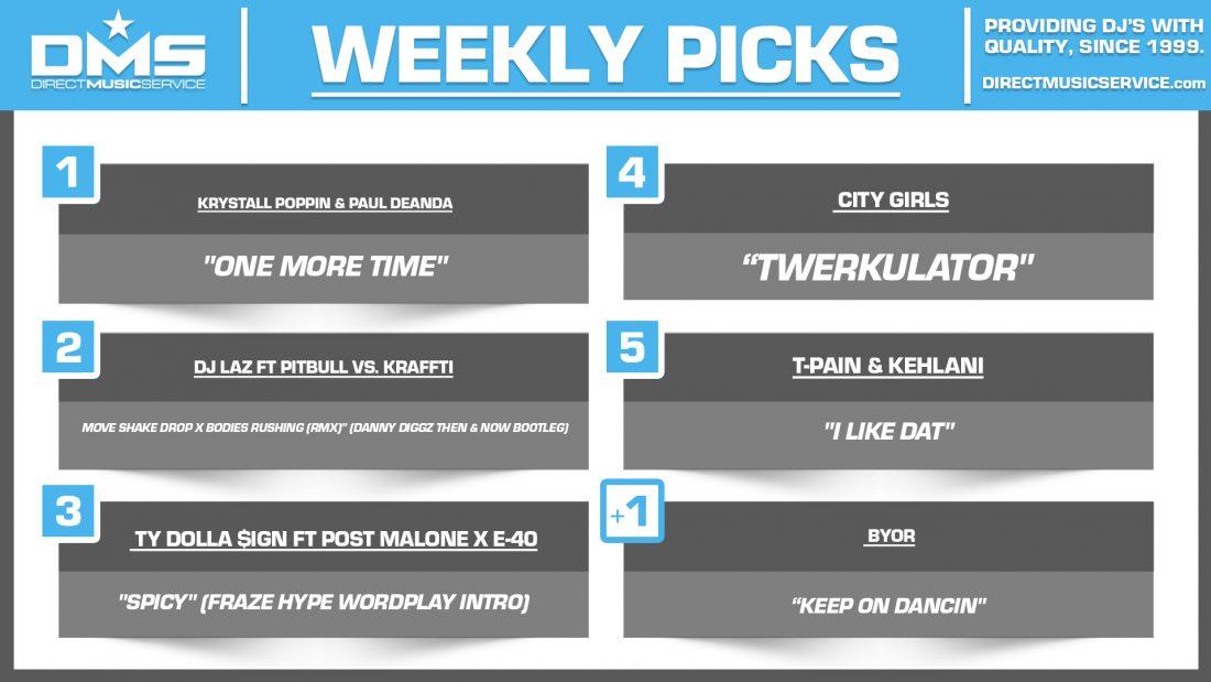DMS TOP 5 PICKS OF THE WEEK 5-24-2021