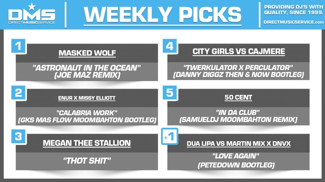 DMS TOP 5 PICKS OF THE WEEK 6-14-2021