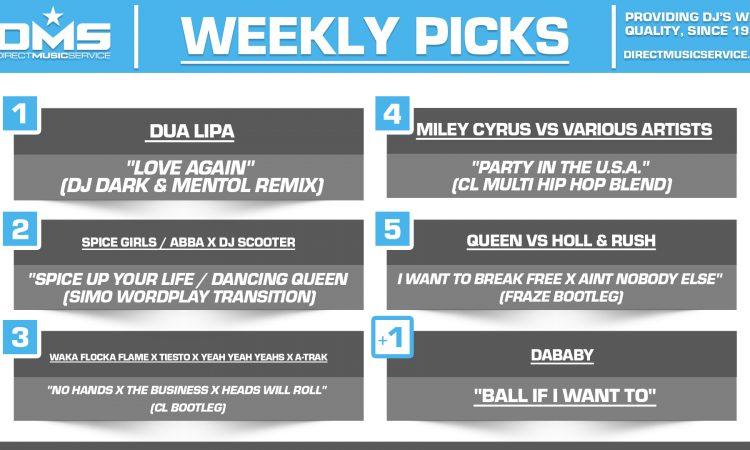 DMS TOP 5 PICKS OF THE WEEK 6-21-2021