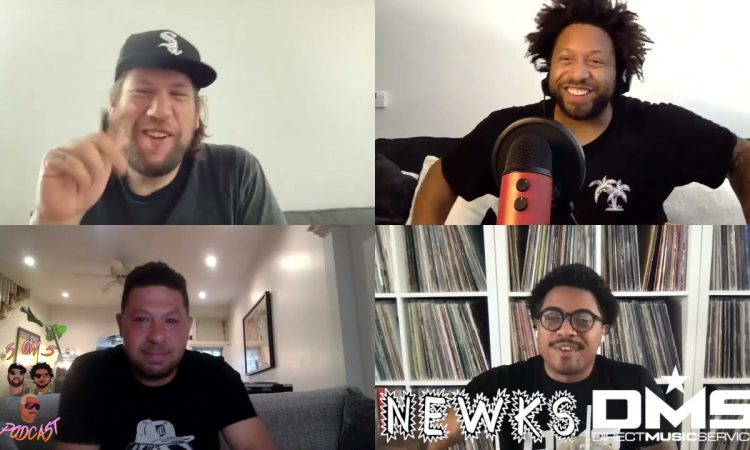 Cosmo Baker Takes On The Roots Vs. N*E*R*D   5 ON 5 PODCAST