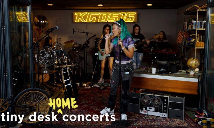 Karol G: Tiny Desk (Home) Concert | NPR Music
