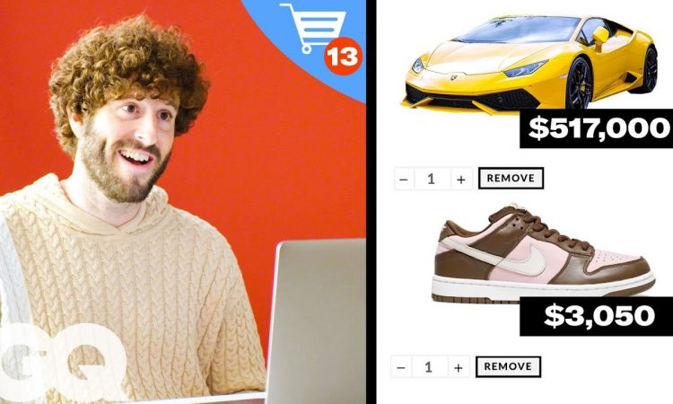 Lil Dicky's $572,090 Shopping Spree | GQ