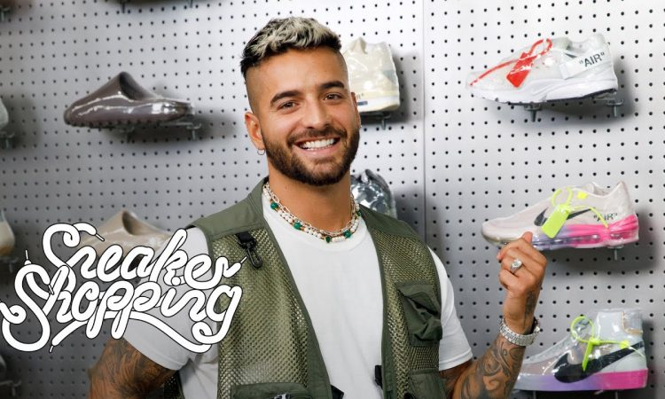 Maluma Goes Sneaker Shopping With Complex