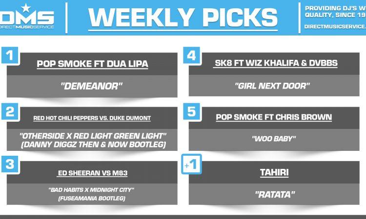 DMS TOP 5 PICKS OF THE WEEK 7-19-2021