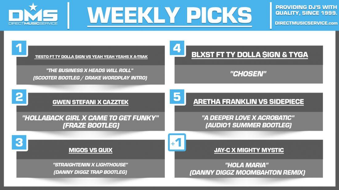 DMS TOP 5 PICKS OF THE WEEK 7-5-2021