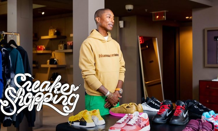 Pharrell Goes Sneaker Shopping | Complex