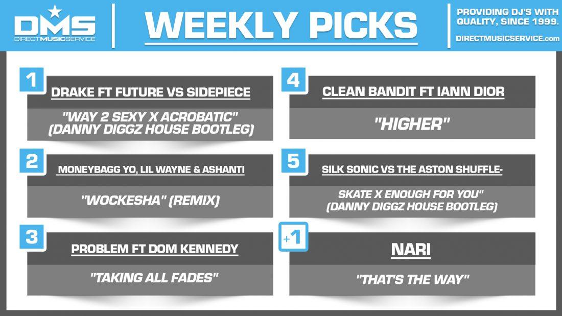 DMS TOP 5 PICKS OF THE WEEK 9-27-2021
