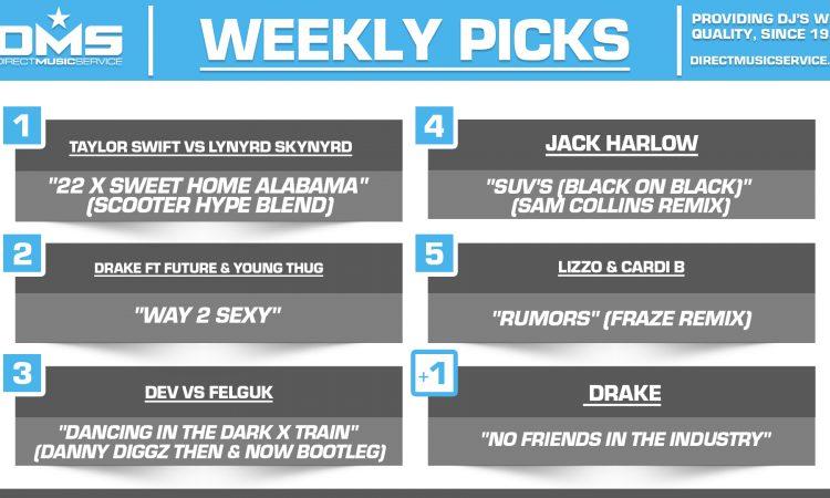 DMS TOP 5 PICKS OF THE WEEK 9-6-2021