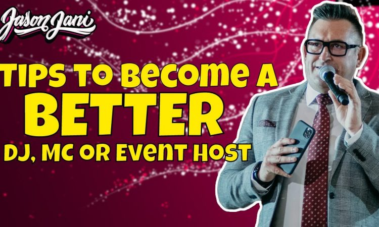 Tips to be a better MC or Event Host | Jason Jani