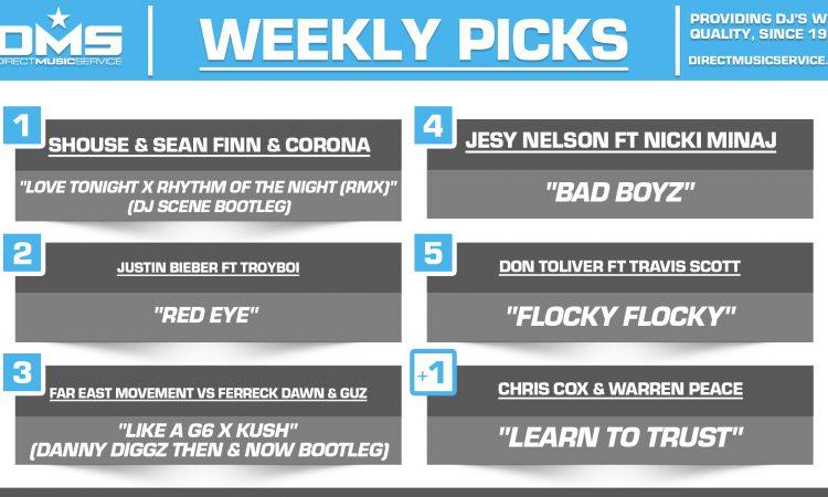 DMS TOP 5 PICKS OF THE WEEK 10-11-2021